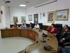 Guardavalle (Cz). Incontro in Comune con le Istituzioni Scolastiche per la presentazione del nuovo Dirigente Scolastico Dott.ssa Rosita Fiorenza,