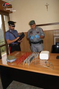 Locri (Rc). Ancora controlli e rinvenimenti di stupefacenti e munizioni da parte dei Carabinieri.