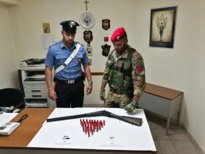 Valle dell'Agro' (Me). Carabinieri arrestano due soggetti per detenzione abusiva di armi clandestine.