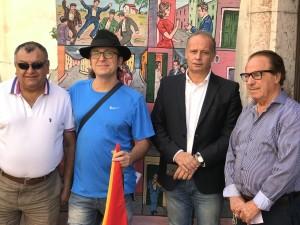 Giardini Naxos (Me). Il Cantastorie Luigi Di Pino ambasciatore della sicilianità in Italia e all'estero.