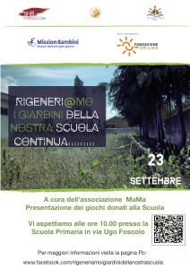 Badolato (Cz). Rigeneri@mo i Giardini della Nostra Scuola….. Continua!