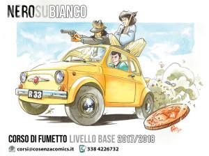 Arriva a Cosenza il Corso di Fumetto: si chiama Nero su Bianco.