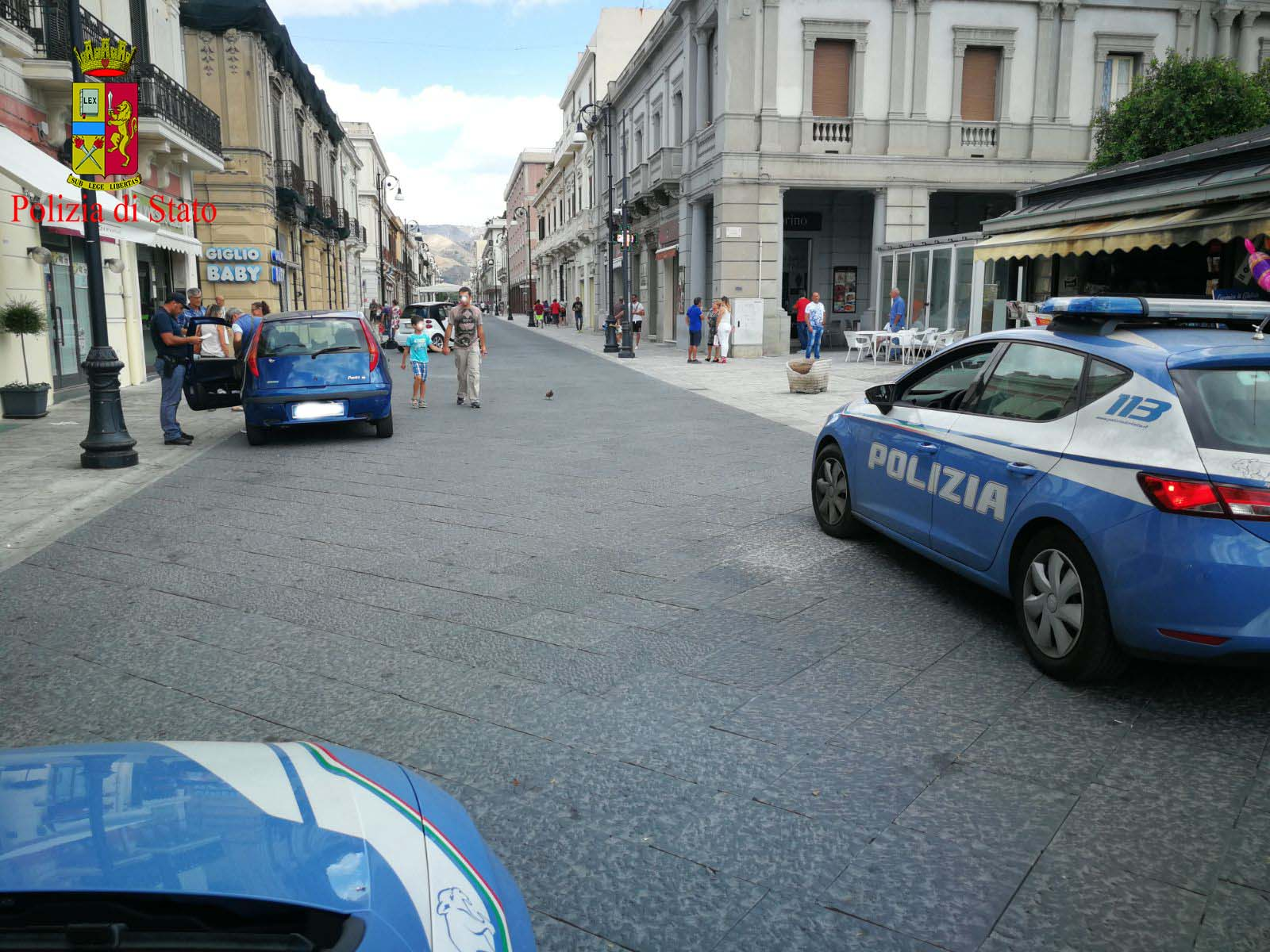 Reggio calabria polizia di stato contrasto al degrado for Ufficio decoro urbano messina