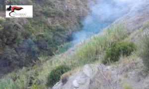 S. Caterina Jonio (Cz). Localita' lonzo. Convalidato l'arresto dell'autore dell'incendio boschivo doloso del 17 settembre.