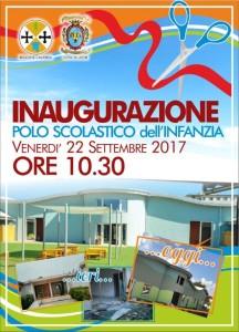 """Locri (Rc), tutto pronto per l'inaugurazione del nuovo Polo Scolastico dell'Infanzia """"Virgilio"""""""