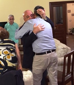 Il Presidente Oliverio a Taurianova (Rc) per esprimere solidarietà a Fabio Scionti