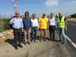 """Associazione """"Basta Vittime Sulla Strada Statale 106"""": Sopralluogo tecnico sulla S.S.106 a Rossano (Cs)"""