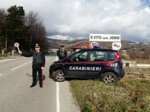 Cardinale (Cz). Perseguita la ex fidanzata, la picchia e le distrugge il cellulare: arrestato un 36enne dai Carabinieri