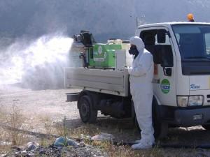 Guardavalle (Cz). Dopo i sei casi accertati, primo ciclo di disinfestazione straordinaria contro il virus Chikungunya.