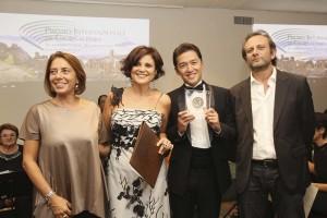 """Cerimonia di assegnazione del Premio Internazionale di Giornalismo """"G7 Taormina – Images and words about sicily"""""""