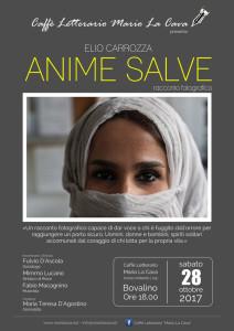 """Bovalino (Rc). """"Anime Salve"""", racconto fotografico di Elio Carrozza,  in presentazione presso il Caffè Letterario Mario La Cava sabato 28 ottobre alle ore 18.00."""