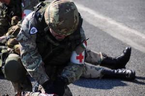 Nota stampa del Corpo Militare Volontario della C.R.I.