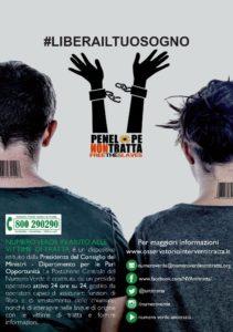 Messina. Undicesima giornata europea contro la tratta degli esseri umani: appuntamento all 12 a Piazza Stazione.