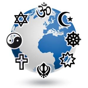 il-pianeta-e-maggiori-simboli-religiosi