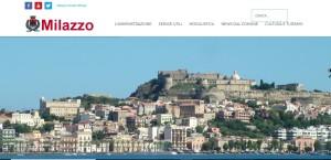 Online il nuovo sito del Comune di Milazzo (Me)