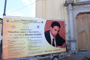 Taurianova (Rc). Convegno Pubblico nel ricordo di Rosario Livatino, sabato 11 novembre 2017