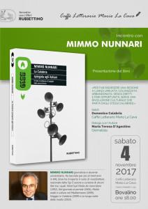 Bovalino (Rc). La Calabria spiegata agli italiani. Incontro con Mimmo Nunnari