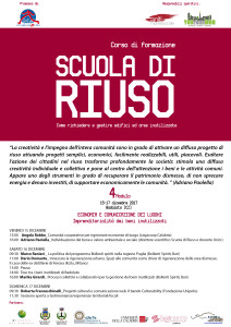 Badolato (Cz). Scuola di Riuso nei giorni 15/16 e 17 Dicembre