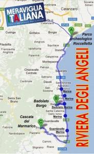 """Ampliare il Progetto Turistico """"Riviera e Borghi degli Angeli"""", incontro il 14 dicembre alle ore 16.00 a Monasterace (Rc)."""