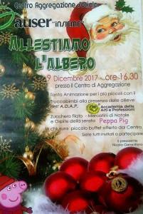 """Guardavalle Centro (Cz). """"Auser Insieme"""", dal 10 al 30 dicembre: allestiamo l'albero, allestiamo il Presepe e altri momenti di cultura e di aggregazione"""