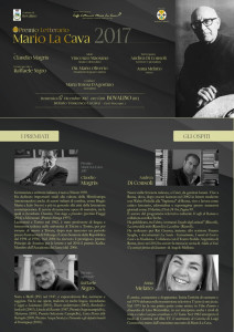 Bovalino (Rc). Premio Letterario Mario La Cava 2017: i premiati