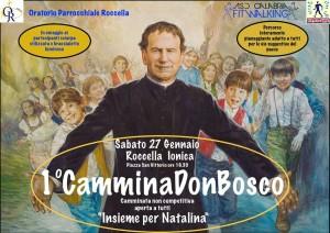 """Roccella J. (Rc), sabato 27 la """"CamminaDonBosco"""" per mantenere alta l'attenzione su Natalina"""