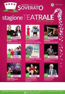 """Soverato (Cz). Nota del Sindaco Alecci su """"Teatro Comunale di Soverato, Stagione 2018."""""""