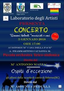 Caulona (Rc). Piccole Gocce e Seventeen in concerto.