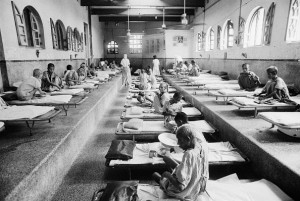 Mother Teresa's Home for the Dying, in Calcutta