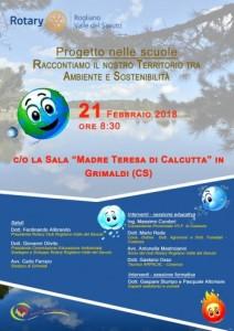"""Calabria. Il Rotary """"Valle del Savuto"""" ospita Arpacal per parlare di sostenibilità"""