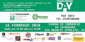 Domani conferenza stampa Franchising Day Catanzaro