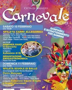 Milazzo (Me). Presentato il Carnevale milazzese