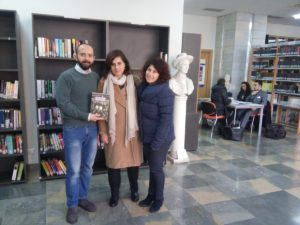 Messina. Donato volume storico alla biblioteca Cannizzaro.