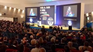 Giorgia Meloni a Catania apre la sua campagna elettorale