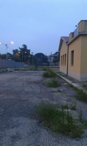 Cortile plesso scolastico Guardavalle Marina