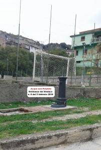 Guardavalle (Cz). Torna potabile l'acqua delle fontane di Via Carmine e di Via A. Giordano.