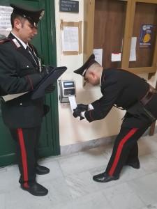 carabinieri timbratura
