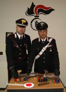 San Fratello (Me): arrestati dai carabinieri due fratelli che detenevano un fucile clandestino e numerose munizioni.