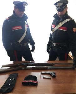 Reggio Calabria. 38enne arrestato per detenzione illegale di armi, possesso di arma clandestina e ricettazione