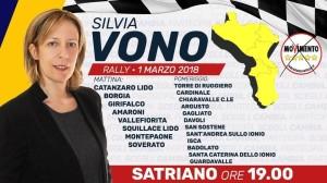 Guardavalle (Cz). Elezioni Politiche 2018: Silvia Vono e Paolo Parentela (M5S) incontreranno gli elettori alle ore 18.00.