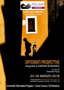 """Messina. """"Differenti Prospettive"""", mostra fotografica di Simona Bonanno"""