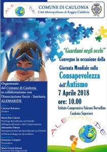 Caulonia (Rc). Giornata sull'autismo, sabato dibattito con esperti