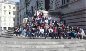 Locri (Rc). Gli studenti dell'Alberghiero in visita a montecitorio.