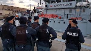Messina. La Polizia di Stato ferma due tunisini sbarcati ieri .