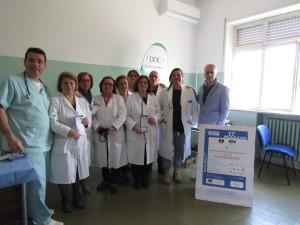 """Casa della salute Chiaravalle C.le (Cz): """"Successo per la Giornata Mondiale contro l'ipertensione arteriosa""""."""