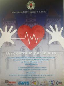 """Messina. """"Un controllo per la vita"""": sabato 26 la presentazione a Palazzo Zanca."""