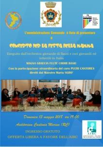 Caulonia (Rc). Musica e solidarietà, Amministrazione Comunale e AIRC insieme per la ricerca.