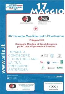 """Chiaravalle Centrale (Cz).""""Casa della Salute"""" – Controlli gratuiti della pressione arteriosa.Giornata Mondiale contro l'ipertensione."""