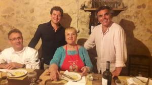 Continua il tour di Lidia Bastianich in Calabria tra genuinità e gusto: tappa anche a Badolato Borgo.