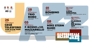 Castroreale (Me). CastrorealeMilazzo Jazz Festival dal 26 luglio.